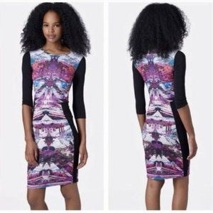 Topshop Kaleidoscope Bodycon Dress
